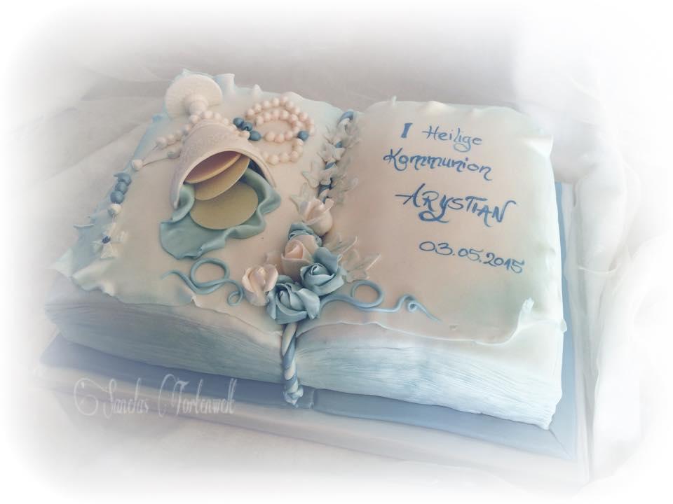 Sanelas Tortenwelt Kommunion Konfirmation